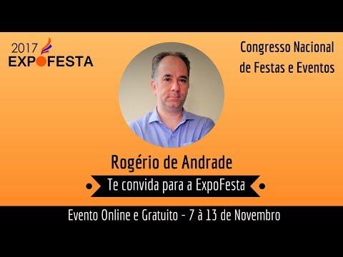 Convite ExpoFesta - Palestra: Marketing Digital