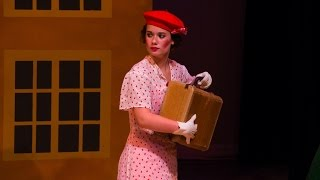 Macy Hohenleitner plays Sally Smith in the musical Me and My Girl L...
