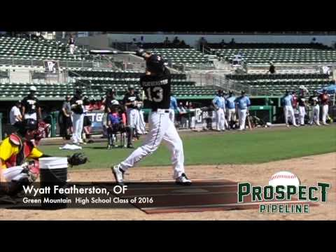 Wyatt Featherston, OF, Green Mountain High School, Swing Mechanics at 200 FPS