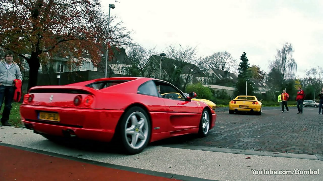 Ferrari F355 F1 Berlinetta - Great sounds! - YouTube