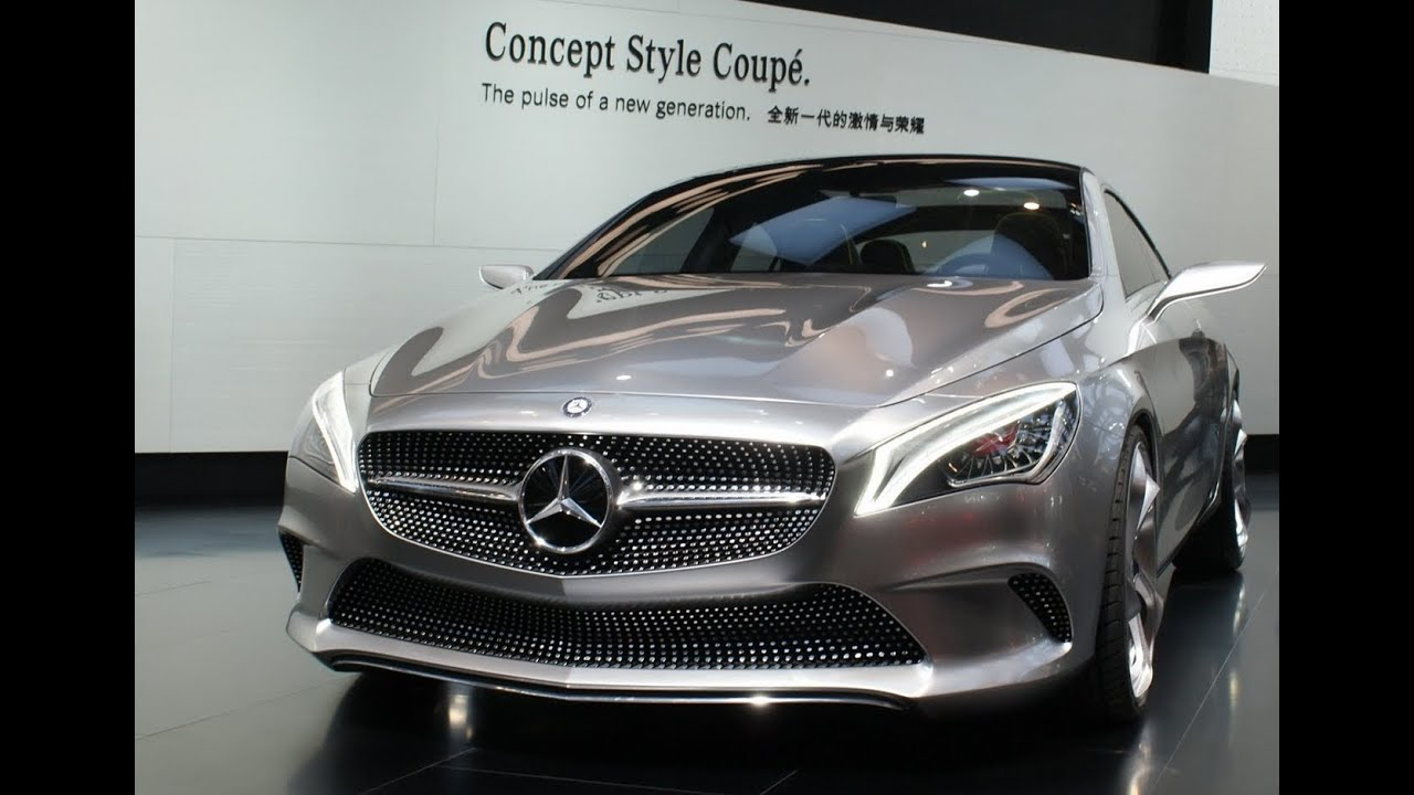 mercedes cla coup concept youtube. Black Bedroom Furniture Sets. Home Design Ideas