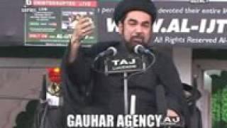 Kalbe Jawwad I Ahle Sunnat I Ashra Majalis I 2014 15 I Majalis 9