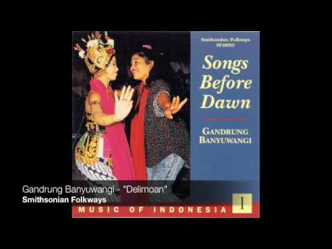 Gandrung ensemble from Banyuwangi  -