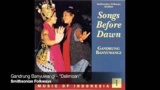 "Gandrung ensemble from Banyuwangi  - ""Delimoan"""