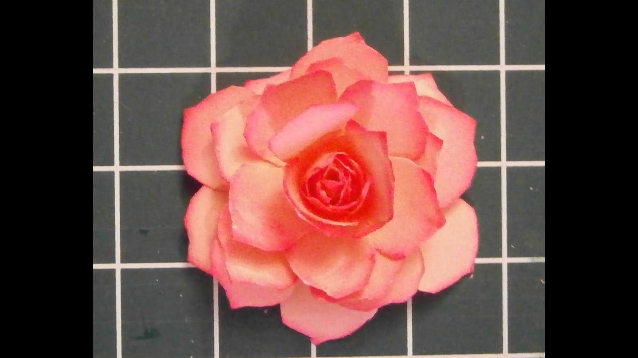 Decoration For Mother's Day Gift: Tutorial Paper Rose DIY