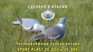 Чучела вяхиря Спорт Пласт 26 00U и 26 00F