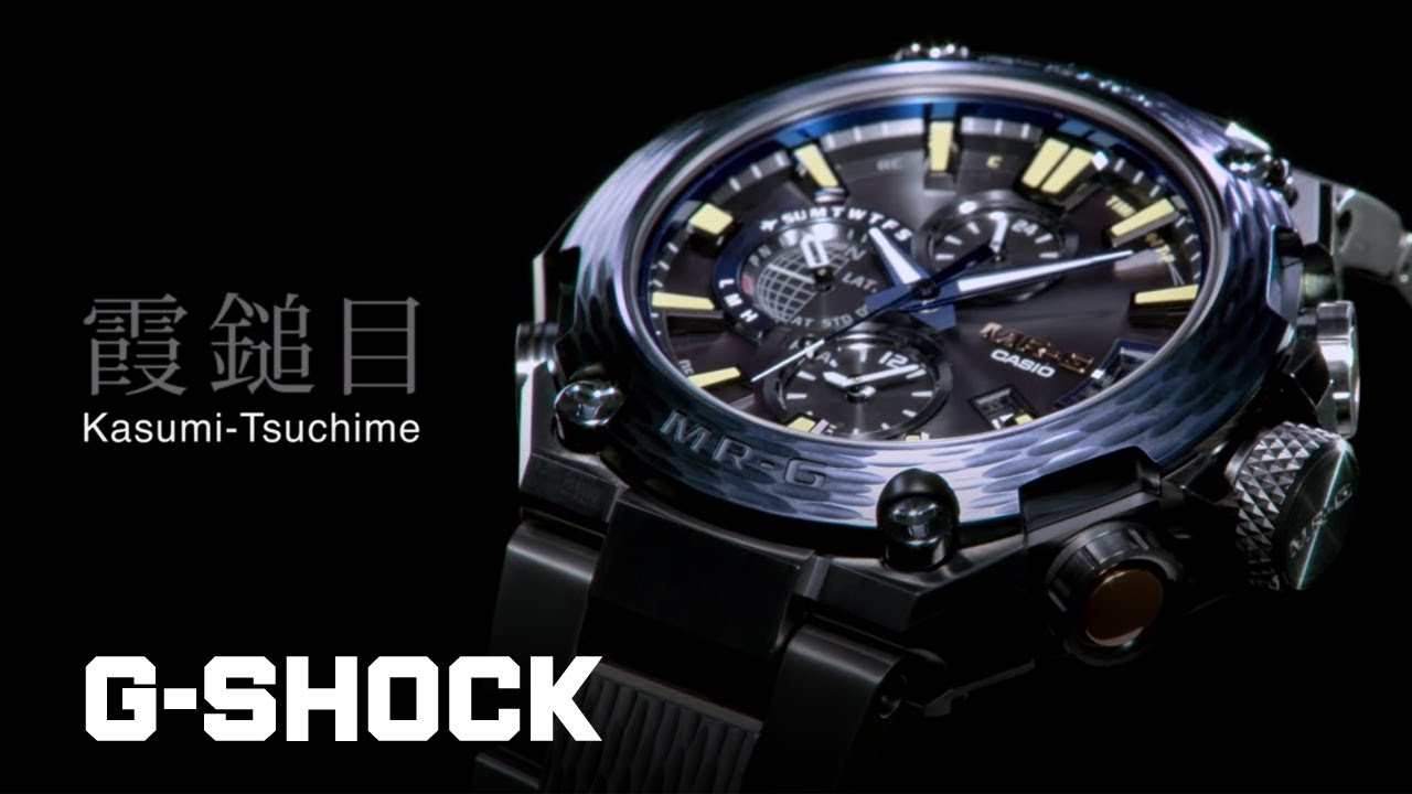 d53ea612d3c6 CASIO G-SHOCK MR-G MRG-G2000HT - Kasumi-Tsuchime - - YouTube