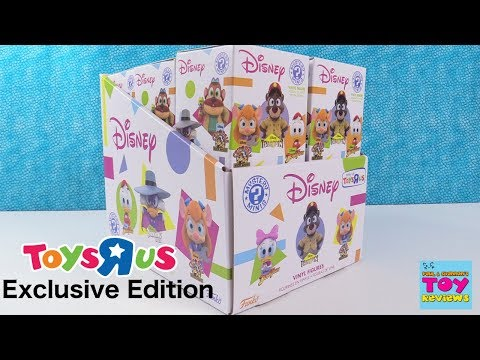 Disney Afternoon Toys R Us Collection Funko Mystery Minis Figure Opening | PSToyReviews