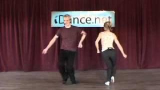 Shorty George - Jazz (vernacular) Dance Lesson, Daniel Newsome, Tiffiny Wine #420