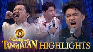 """Tawag ng Tanghalan: The TNT hosts belt their own version of """"Faithfully"""""""