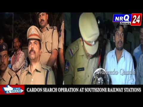 NRQ 24 News:- After receiving the complaints of existing of criminal activities at Railway stations