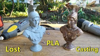 Lost PLA casting. Alexander the Great