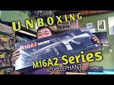 M16A2 Series Both Elephant. Review Singkat dan unboxing Airsoft Gun Spring. F24 Airsoft Cimahi