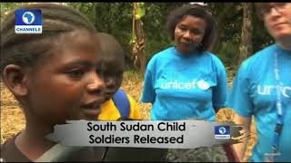 South Sudan Child Soldiers Released |Africa 54|