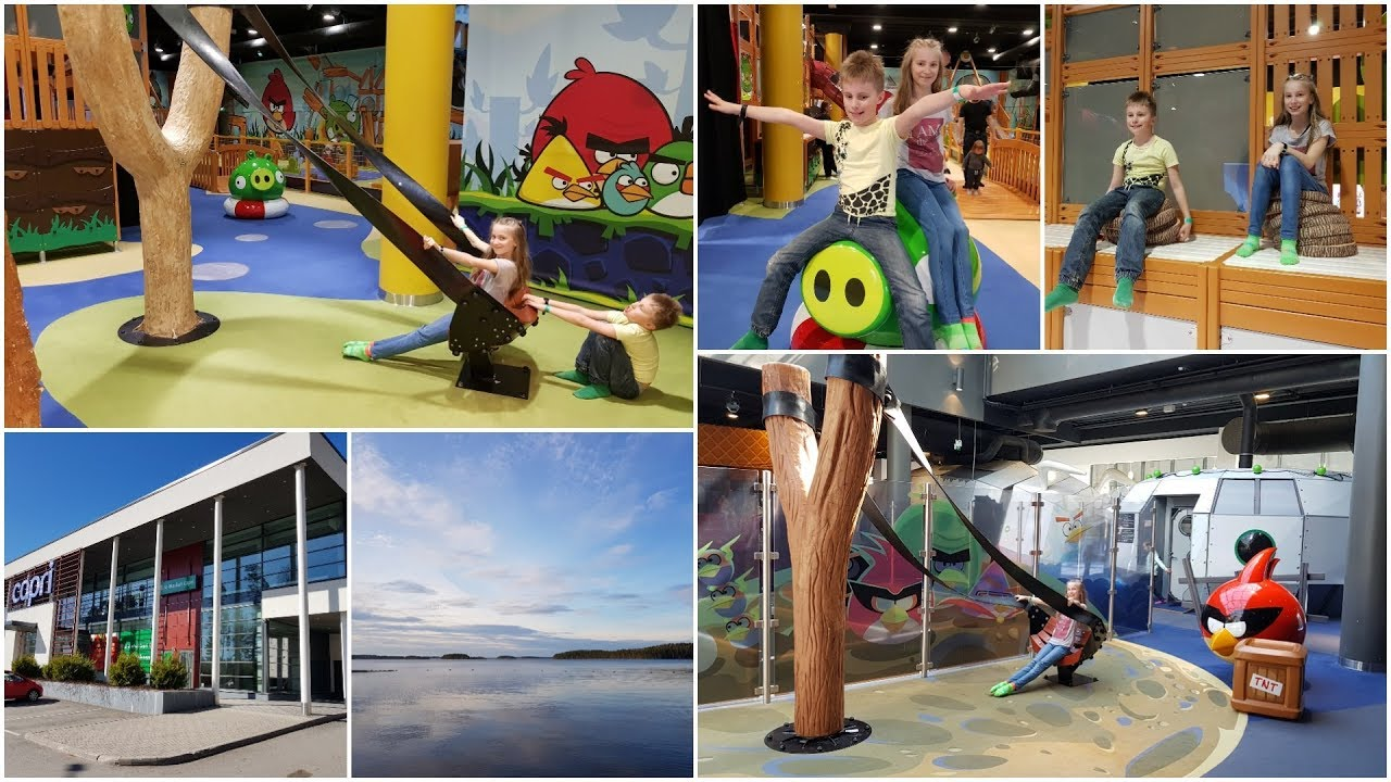 Holiday Club Saimaa 2 - Angry Birds Activity Park - YouTube
