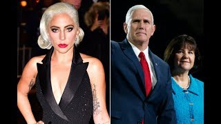 Lady Gaga calls Mike Pence anti-Christian for defending his wife's work at anti-LGBTQ school