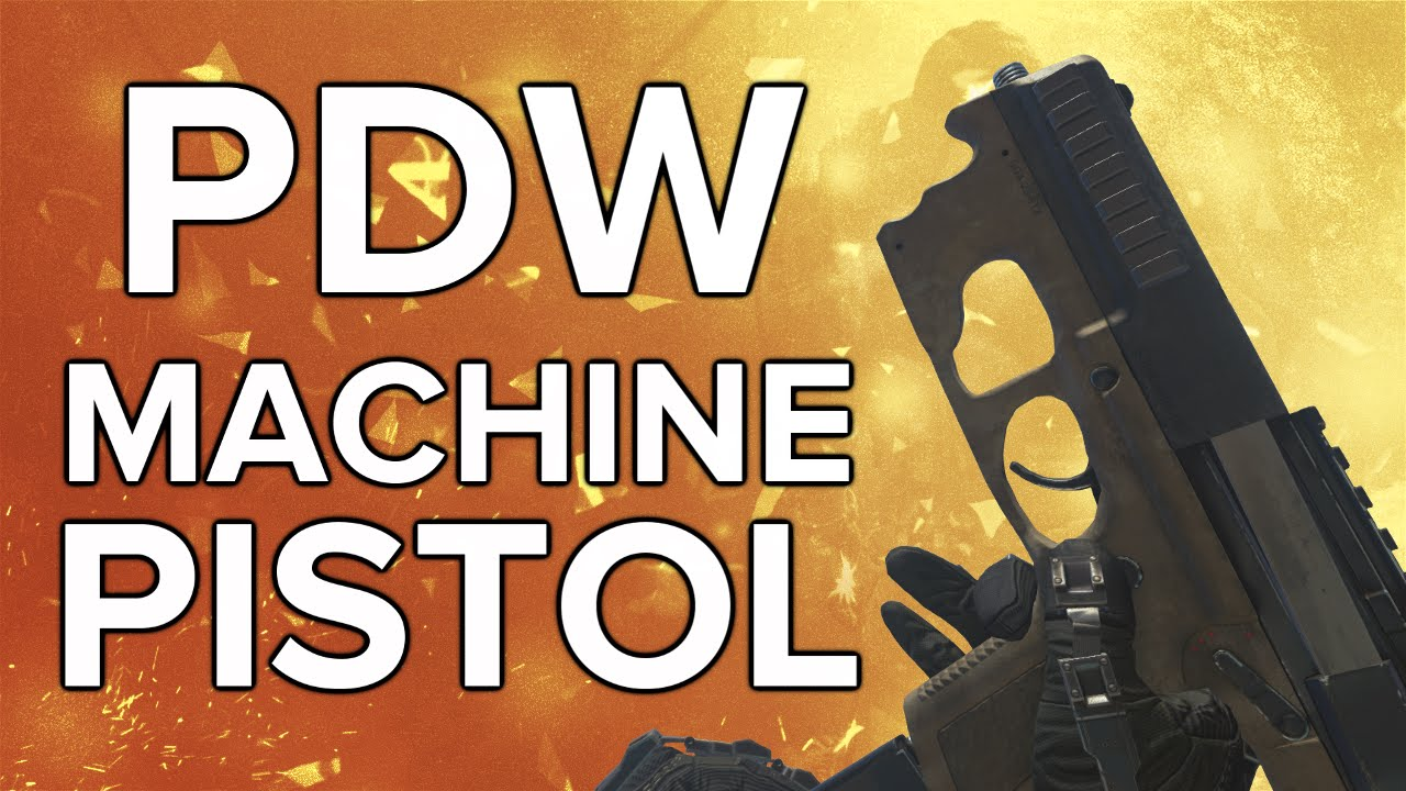 Advanced warfare in depth pdw machine pistol review amp variants guide
