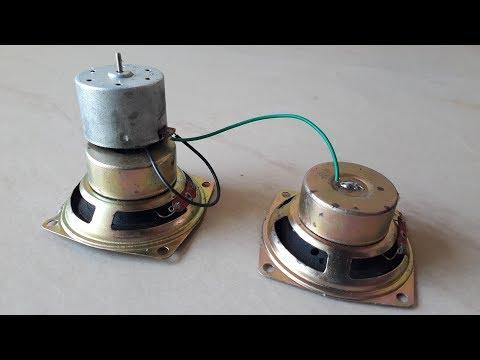Free energy device in speaker magnet