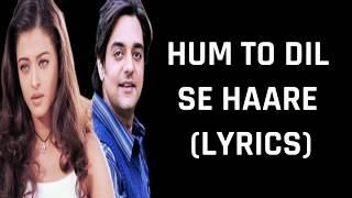 Haare Haare (Lyrics) Josh | Alka Yagnik, Udit Narayan