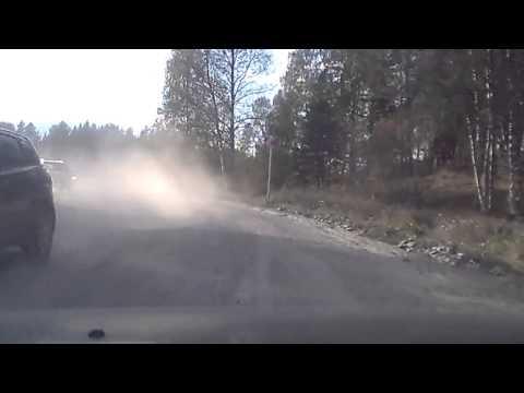 Дорога Петербург - Сортавала, Карелия, окрестности Хийтолы, грунтовка