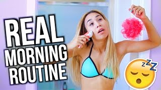 My Realistic Morning Routine | MyLifeAsEva