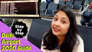 New Delhi Airport Terminal 2   Step by Step Guide   First time traveller   My Travel Dastaan