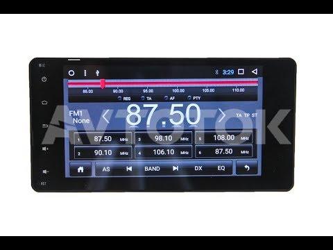 Штатная магнитола Mitsubishi Outlander, Pajero 4, Lancer Android 7.1.1 MOP-A7