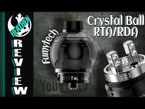Crystal Ball 5ml Round RTA/RDA from Fumytech I Giveaway I Heathen