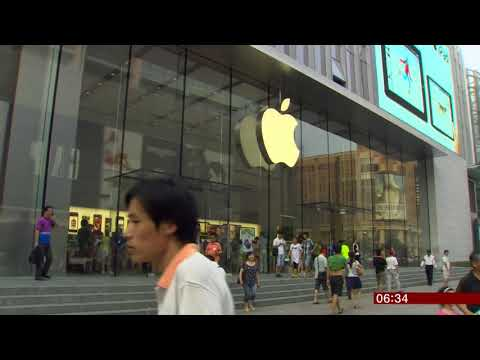 Profits warning (Apple/(Global)) - BBC News - 3rd January 2019