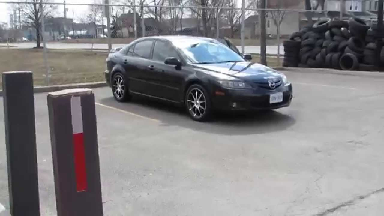 HILLYARD RIM LIONE 2008 MAZDA 6 RIDING ON 18 INCH MACHINED RIMS   YouTube