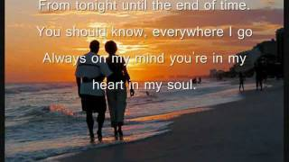 Chicago - You're The Inspiration (Lyrics).flv