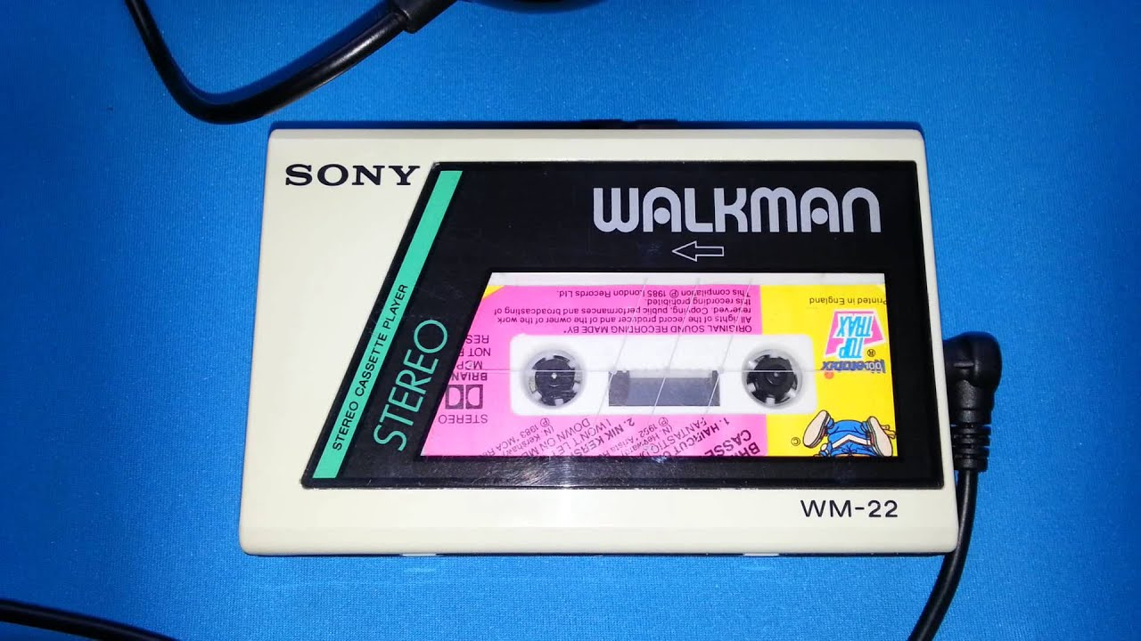 sony walkman cassette player. sony walkman wm 22 cassette player s