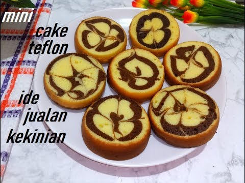 resep-marmer-cake-mini-teflon-empuk,lembut,simple-dan-enak,cocok-untuk-ide-jualan-cake