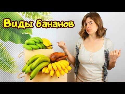 Банан! Необычные сорта бананов: #бананплатано #бананкрасный #бананбейби #бананзеленый