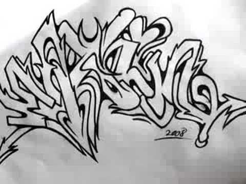 Graffiti black book women at work II - Граффити