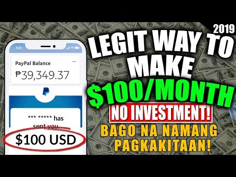 LEGIT! Make $100 per month! NO INVESTMENT!!