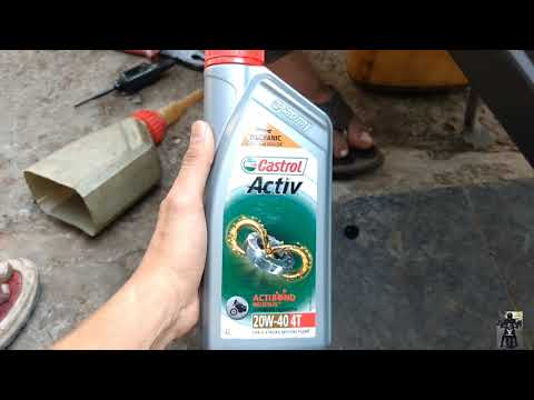 How To Change Engine Oil in Honda Activa | DIY