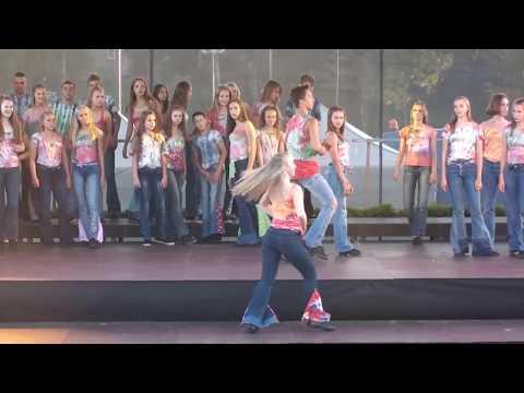 Dejas uzvedums veltīts Rēzeknes 732 gadadienai (rež: A.Daņiļevičs)