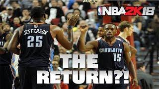 THE RETURN?! - Bobcats Expansion MyLeague - NBA 2K18
