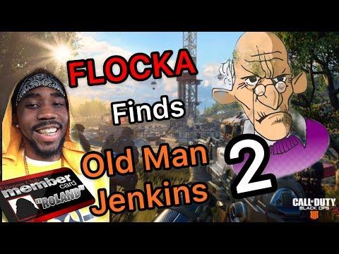 "HILARIOUS ARGUMENTS! BLACK OPS 4! FLOCKA VS  ""RACIST"" OLD MAN JENKINS 2! HE GOT EMOTIONAL! #GOMFSFB"