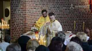 Inauguracyjna liturgia w Brukseli