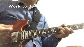 大好きな曲。弾いてみました。 使用ギターは68's Gibson ES335。 生音デカくてアンプの音が聞こえませんでしたw ーーーーーーーーーーーーーーーーーーーー この曲も含め ...