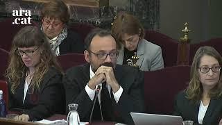 """Marchena retreu a Salellas que vulgui donar una lliçó constitucionalista al tribunal: """"És un insult"""""""