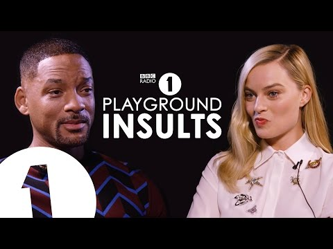 Will Smith & Margot Robbie Insult Each Other | CONTAINS STRO