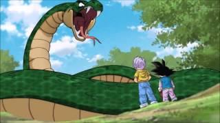 Dragon Ball Super: Goten and Trunks vs Snake HD English Subtitles