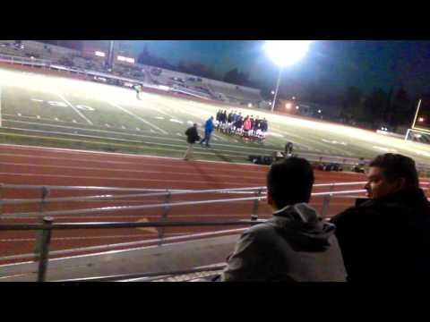 Riverbank high school soccer team