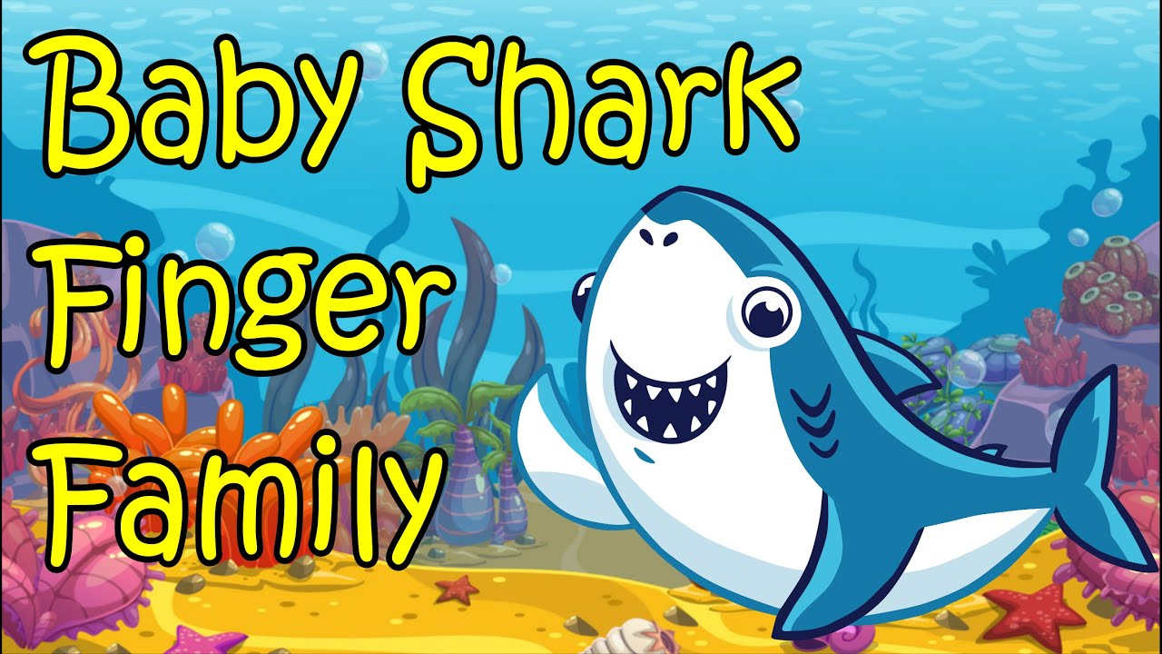 baby shark the finger family song nursery rhyme