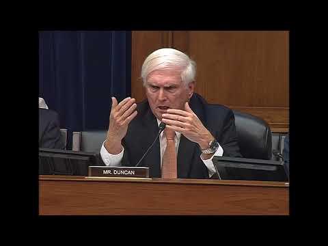 Mr. Duncan - Shining Light on the Federal Regulatory Process