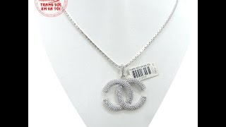 Nữ trang bộ nữ quý phái vàng trắng, Bộ trang sức nữ, Bộ trang sức, TSVN013769