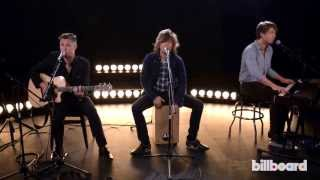 "Hanson - ""Cut Right Through Me"" Live @ Billboard Studios"